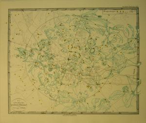 Himmelskarte 1839