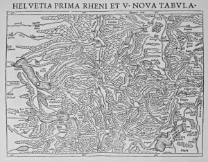 Rheinlaufkarte 1540